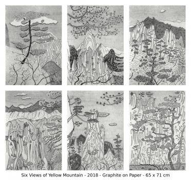 Six views of Yellow Mountain